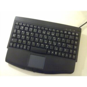 Mini Keyboard with integrated Touchpad, usb, black - CompuLab Nordic