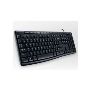 Standard keyboard from Logitech, usb, black - CompuLab Nordic