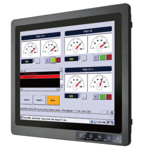 IP67 Marine Display - full protection, industrial grade and vibration safe - front view - CompuLab Nordic