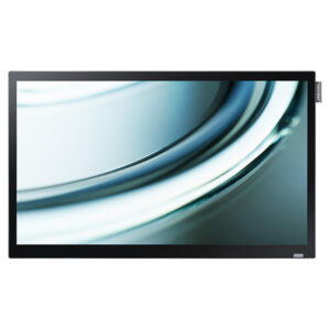 Samsung digital signage DB22D Front_Black