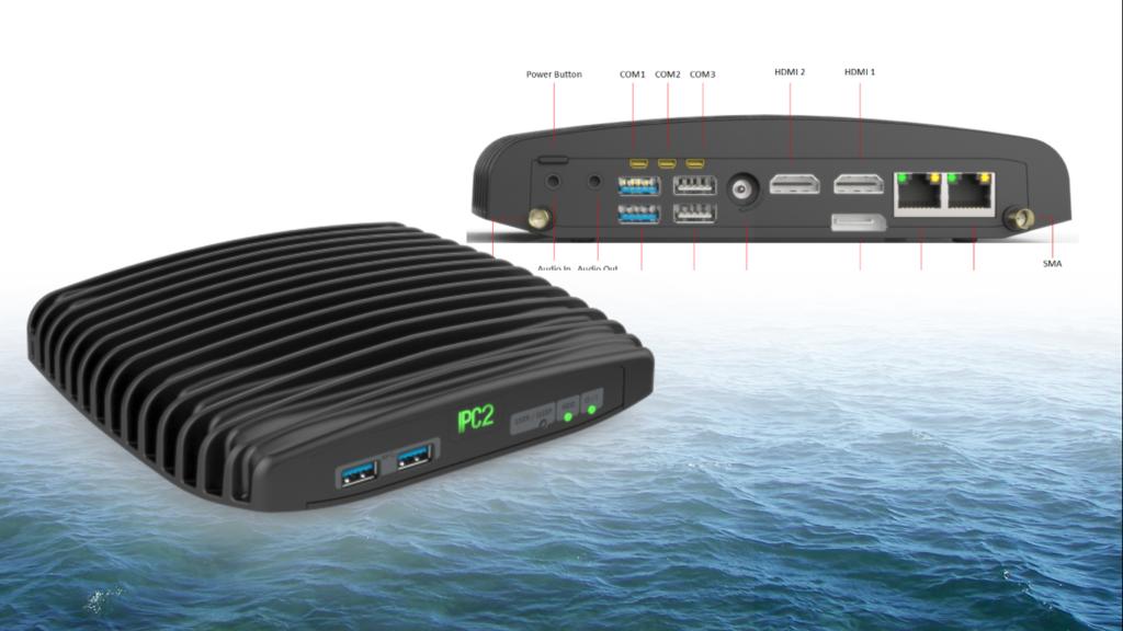 Marine PC fra CompulabNordic. Den hurtige, robuste pc til offshore aktivieter.