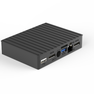 CompuLab MintBox Mini Pro - Linux Mint based Rugged mini PC based on fitlet-RM PC series - CompuLab Nordic - back view