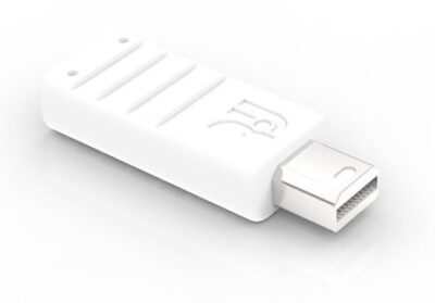 fit-Headless DP Product image - mini DisplayPort adapter that emulates a high resolution display - up to 4K resolution - CompuLab Nordic