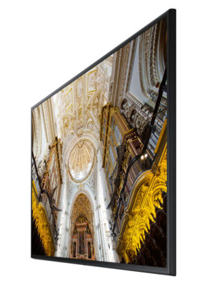 "Samsung LH65QMNEBGC signage display 165.1 cm (65"") 4K Ultra HD Black"